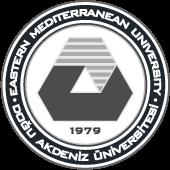 >Eastern Mediterranean University logo bw